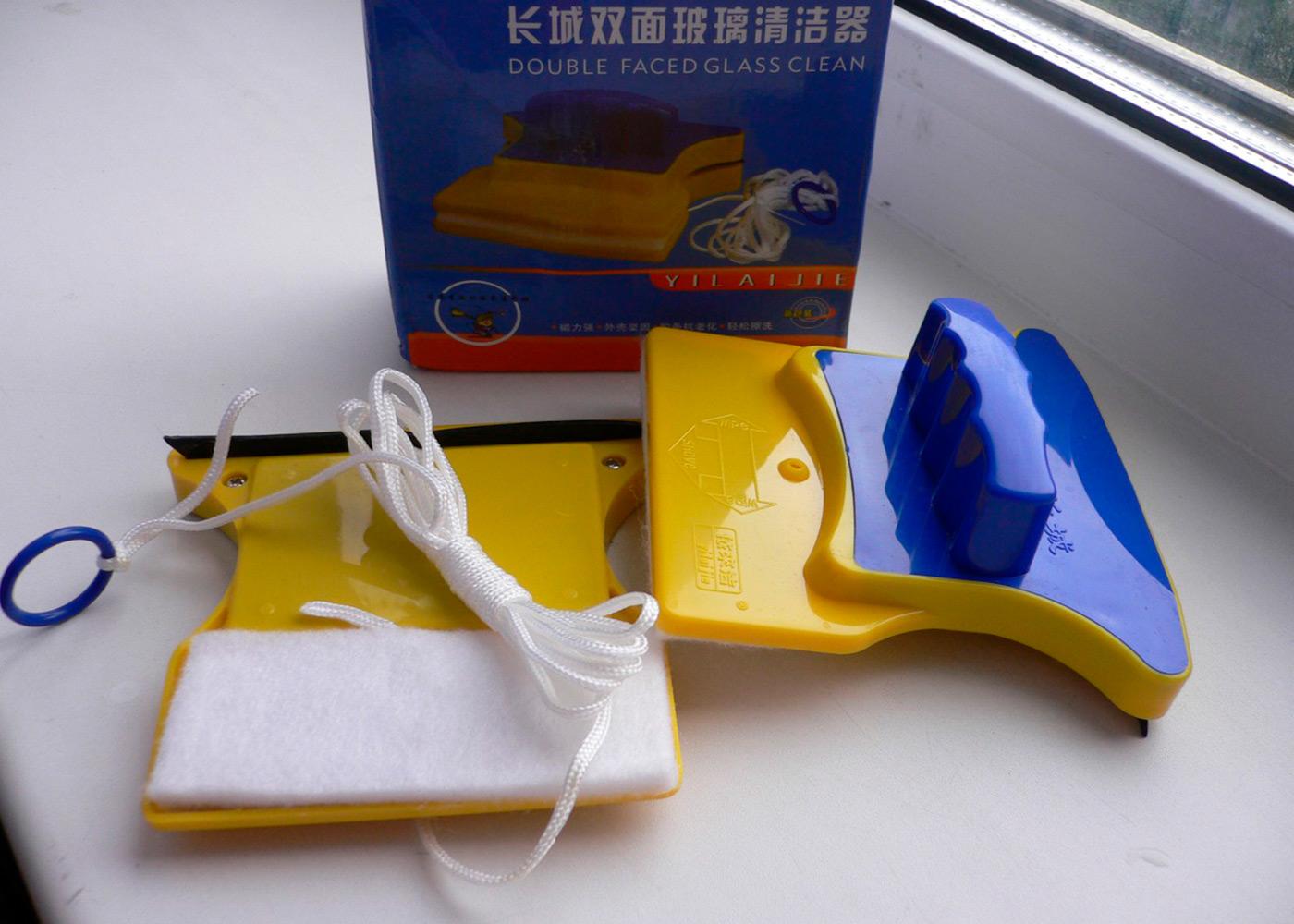 Магнитная щетка для мытья окон: что это + обзор лучших моделей