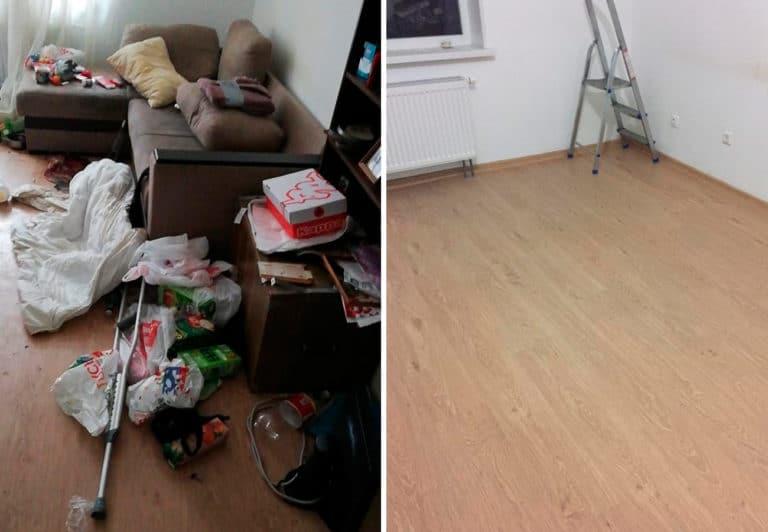 Уборка студии в Санкт-Петербурге после покойника