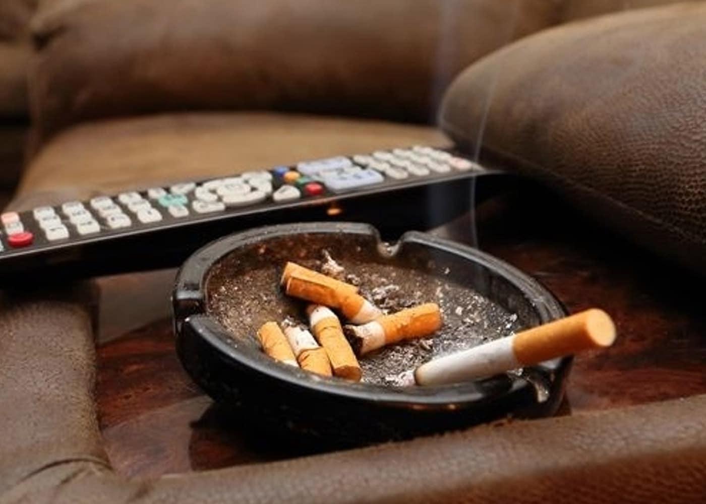 Неприятный табачный запах
