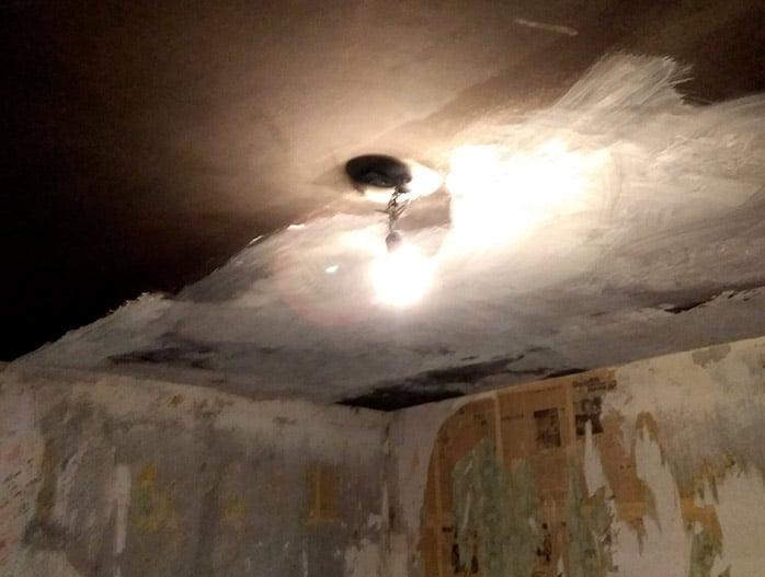 Очистка квартиры после пожара с полным демонтажем